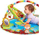 Со скольки месяцев нужен развивающий коврик ребенку и для чего?