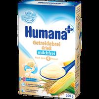 Каша кукурузно-рисовая безмолочная сухая HUMANA для детей от 6-ти месяцев 200 г