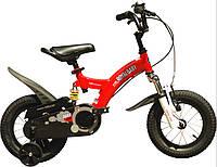 """Велосипед 2-х колесный детский FLYING BEAR, колеса 12""""  красный"""
