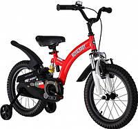 """Велосипед 2-х колесный детский FLYING BEAR, колеса 16""""  красный"""