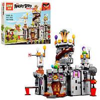 Конструктор Angry Birds Замок Короля свинок 917 деталей, фото 1