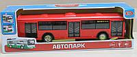 Автобус звук мотора, музыка, свет фар, двери открываются, инерция, на батарейке, в коробке 33*10*10 см