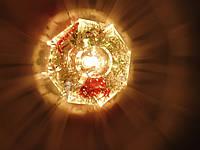 Точечный светильник с кристаллом YUSING Рыбка (60153А) G5,3