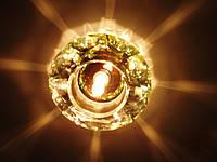 Точечный светильник с кристаллом YUSING 6098B мультицвет G5,3