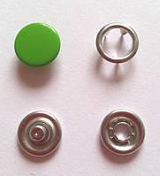 Кнопка 9,5 мм матовая № 22 - зеленая