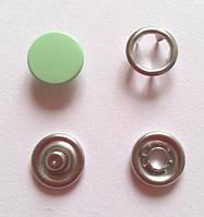 Кнопка 9,5 мм матовая № 246 - мята