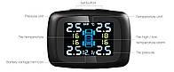 Датчики контроля давления в шинах и температуры TPMS USB внешние