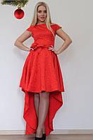 """Стильное молодежное платье мини """" Жаккард с подъюбником """" Dress Code"""