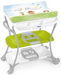 Пеленальный столик с ванночкой CAM Nuvola