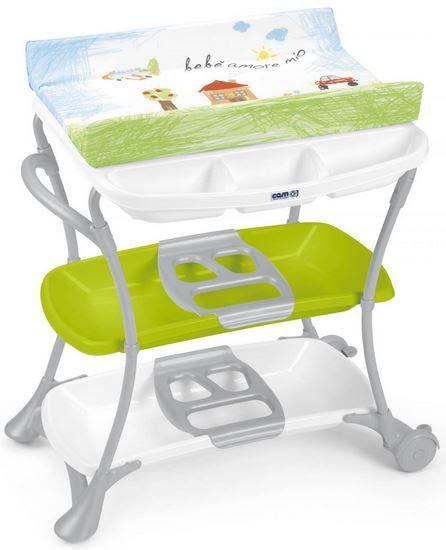 Пеленальный столик с ванночкой CAM Nuvola - Интернет-магазин детских товаров «Papa-mama» в Одессе