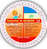 Експрес-словник 1-4 класи Синоніми та антоніми Вид-во: УЛА