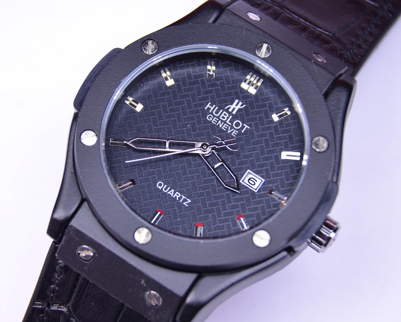 Мужские часы HUBLO-T Big Bang Black Geneve