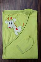 """Уголок полотенце """"Жираф"""" набор для купания"""