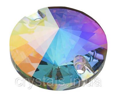 Пришивные риволи хрустальные Preciosa (Чехия) Crystal AB