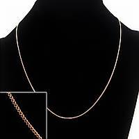 Цепочка на шею Xuping, плетение Картье, цвет металла золото