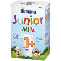 Сухая детская молочная смесь «Жидкое молочко HUMANA Джуниор» для детей от 1 года и старше, 600 г