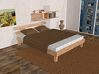 Кровать буковая ZOZB00012