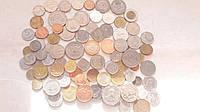 Монеты 100шт Экзотика