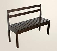 Скамейка для кухни и прихожей деревянная (Л3)