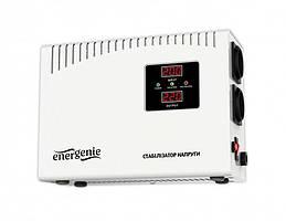 Стабилизатор EnerGenie EG-AVR-DW2000-01 2000VA, 2xSchuko