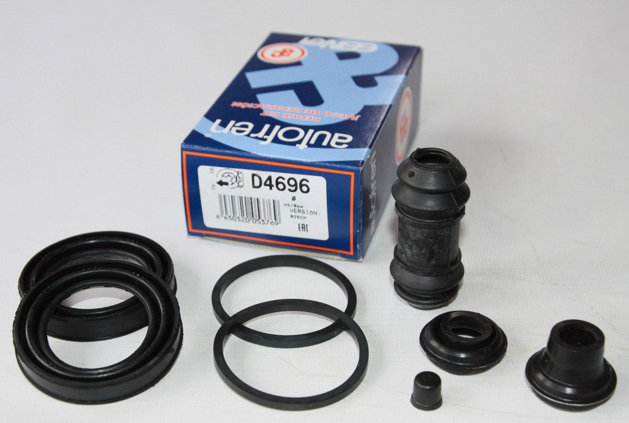 Ремкомплект (пер.+зад.) суппорта Sprinter 208-416 d=45mm Bosch Autofren Siensa