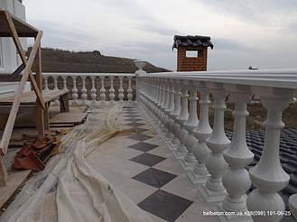 Балясины Одесса | Бетонная балюстрада на Сосновом берегу в Одесской области 2