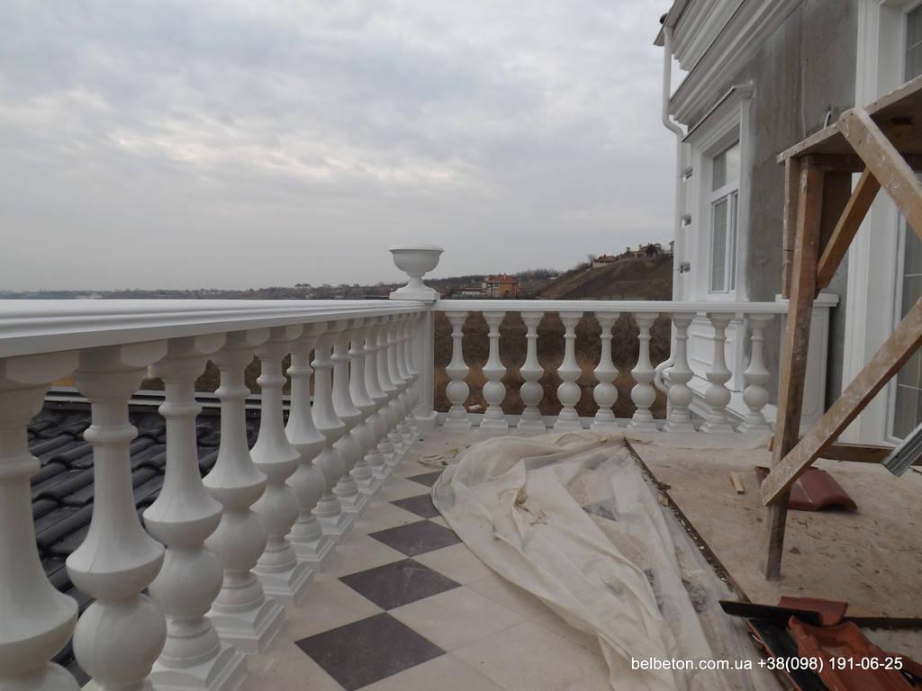 Балясины Одесса | Бетонная балюстрада на Сосновом берегу в Одесской области 3