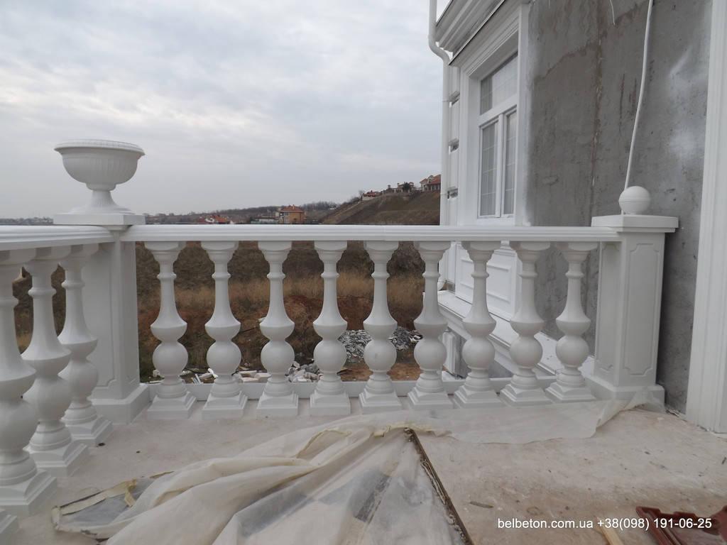 Балясины Одесса | Бетонная балюстрада на Сосновом берегу в Одесской области 4