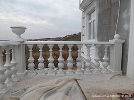 Балясины Одесса   Бетонная балюстрада на Сосновом берегу в Одесской области 4