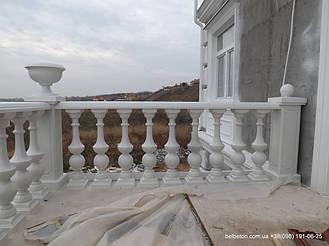Балясины Одесса | Бетонная балюстрада на Сосновом берегу в Одесской области 5