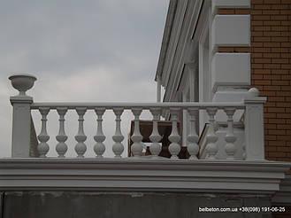 Балясины Одесса | Бетонная балюстрада на Сосновом берегу в Одесской области 8