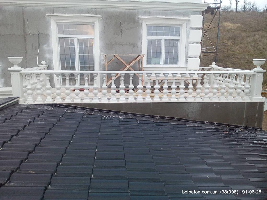 Балясины Одесса | Бетонная балюстрада на Сосновом берегу в Одесской области 18