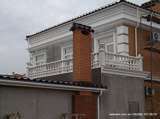 Балясины Одесса | Бетонная балюстрада на Сосновом берегу в Одесской области 11
