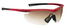 Очки Uvex Racer красные с тонированной линзой