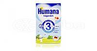 Молочная сухая смесь Humana 3 с пребиотиками галактоолигосахаридами (ГОС) и яблоком 300 г