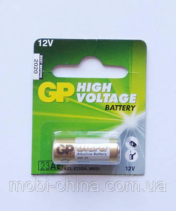 23AE Батарейка GP High Voltage Battery 12V, фото 2