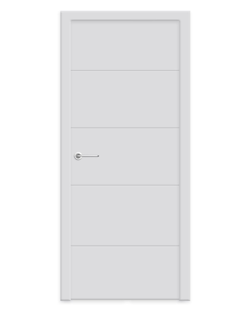 """Двери межкомнатные Стайл S4 белая эмаль (Woodok) - Магазин дверей """"Душа Cтиля"""" в Киеве"""