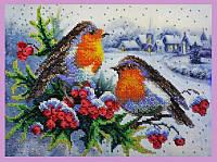 Набор для вышивания бисером Зимняя песня