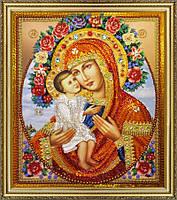 Набор для вышивания бисером Жировицкая икона Божией Матери