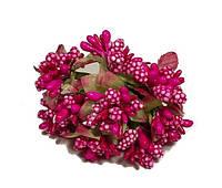 Тычинка искусственная малиновая 10792 1-4-1