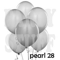 Воздушные шарики Gemar AM50 металлик перламутровый 5' (13 см), 100 шт