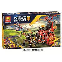 Конструктор Nexu Knights Джестро-мобиль 670 деталей, фото 1