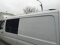 """Рейлинги Mercedes Sprinter 901-906  Тур. тип - Can Koruma, Чугунные ножки, цвет """"Хром"""""""