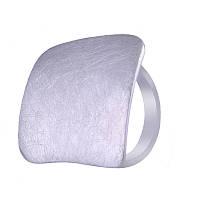 Серебряное кольцо сатинированное Salto Gioielli