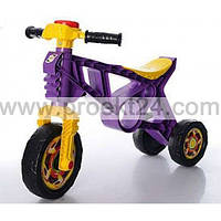 Мотоцикл Беговел фиолетовый 57*32см