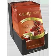 Молочный шоколад Сachet c карамелью и морской солью, 300 гр