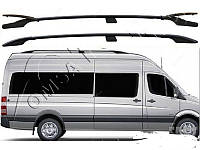 """Рейлинги Mercedes Sprinter 901-906  Тур. тип - Can Koruma, Чугунные ножки, цвет """"Черный"""""""