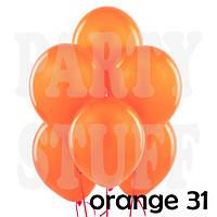 Воздушные шарики Gemar АМ50 металлик Оранжевый 5' (13 см) 100 шт