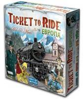 Билет на поезд: Европа (рус) (Ticket to ride: Europe Rus) настольная игра