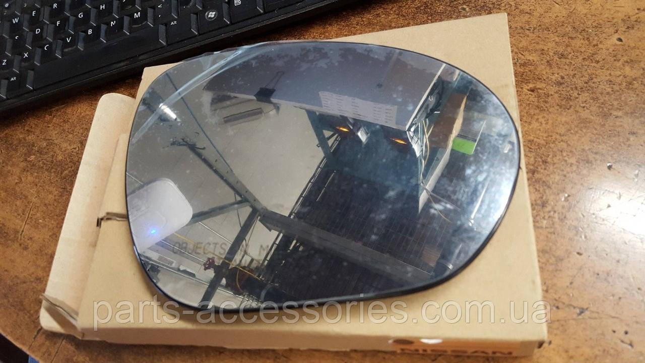 Nissan Juke 2009-2014 стекляшка вкладыш правого зеркала Новый Оригинальный